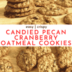 Oatmeal Cranberry Pecan Cookies Recipe | Chenée Today