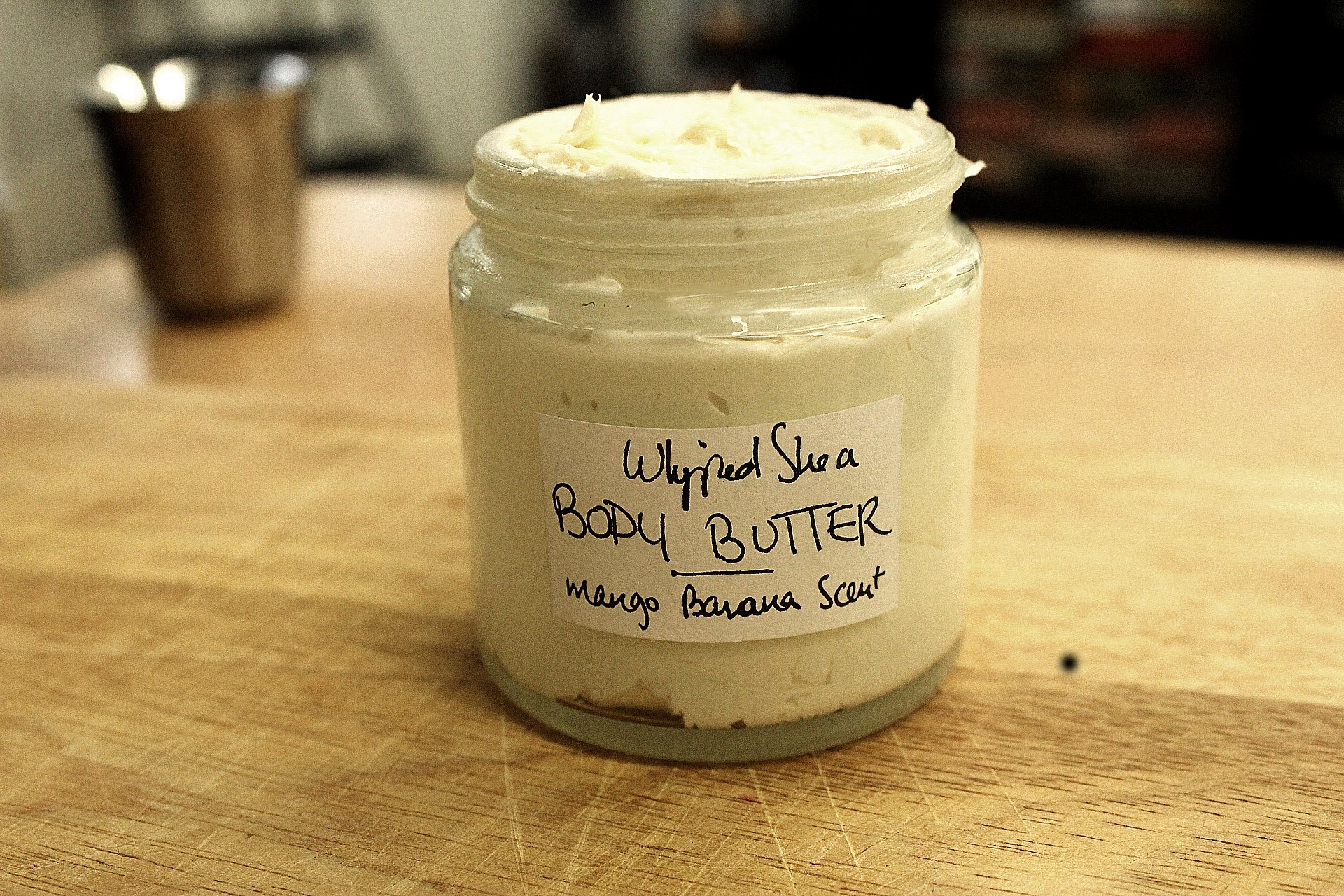 DIY Whipped Shea Body Butter
