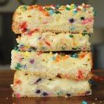 Confetti Cheesecake Bar Recipe