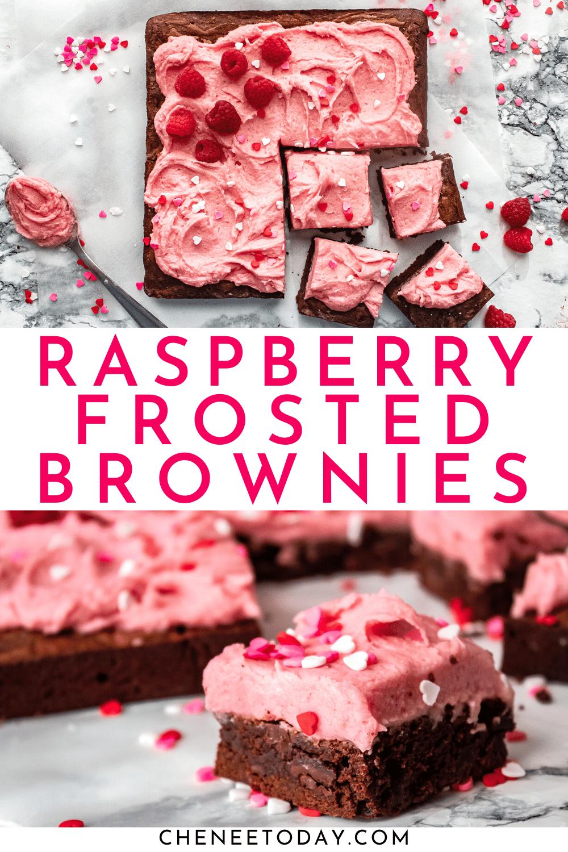 Raspberry Chocolate Brownies | Chenée Today