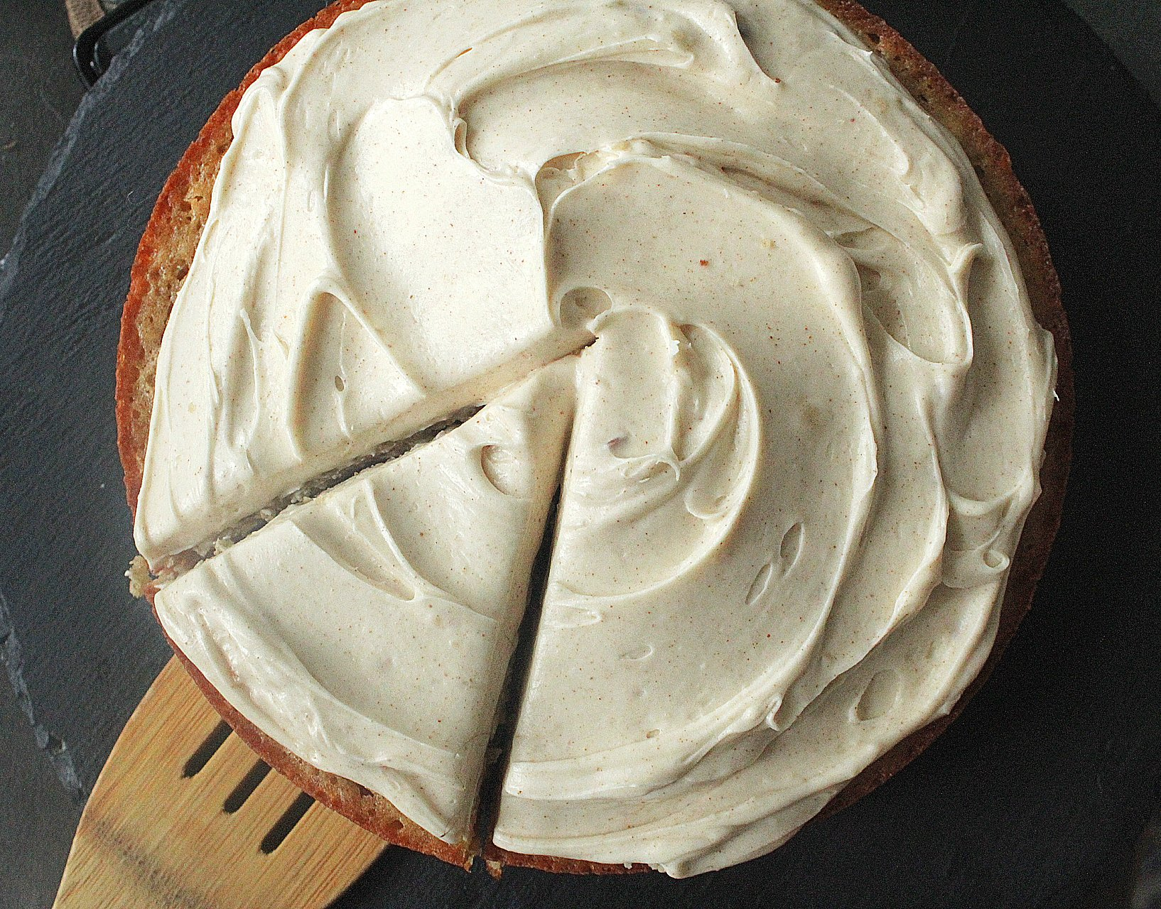 Banana Cake with Brown Butter Cream Cheese Frosting
