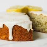 Earl Grey Lavender Cake with Honey-Lemon Glaze