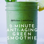 2-Minute Anti-Aging mango kale Smoothie Recipe | Chenée Today
