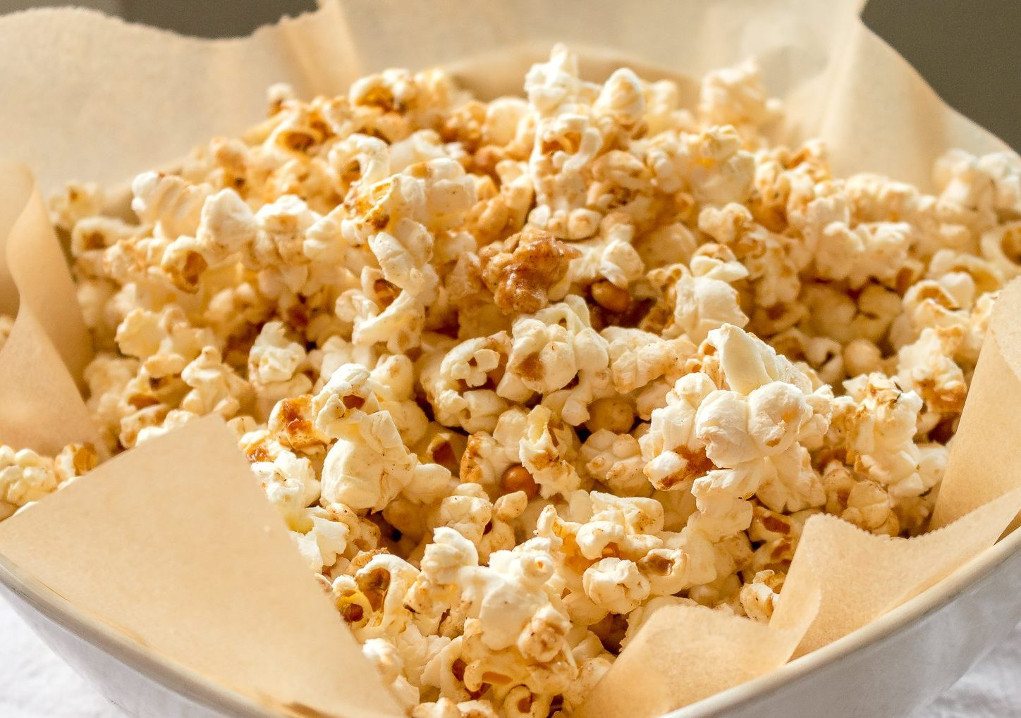 Sweet and Salty Kettle Corn Recipe with Cinnamon | Chenée Today