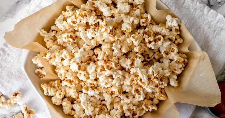 Cinnamon Sweet and Salty Kettle Corn