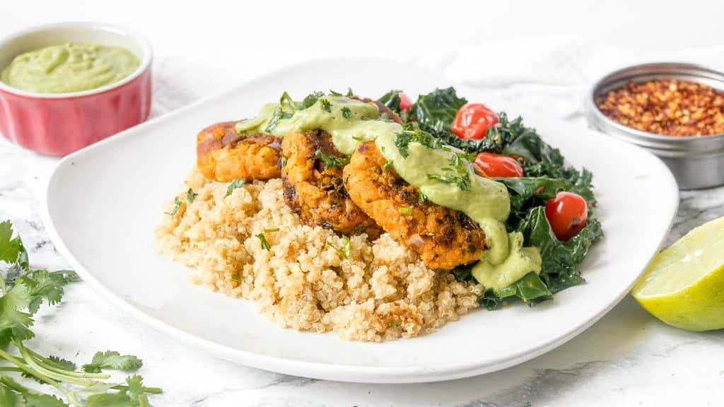 Sweet Potato Patties Recipe - Vegan and Gluten Free! | Chenée Today