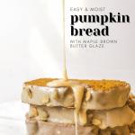 The Best Easy, Moist Pumpkin Bread Recipe! Better Than Starbucks! | Chenée Today