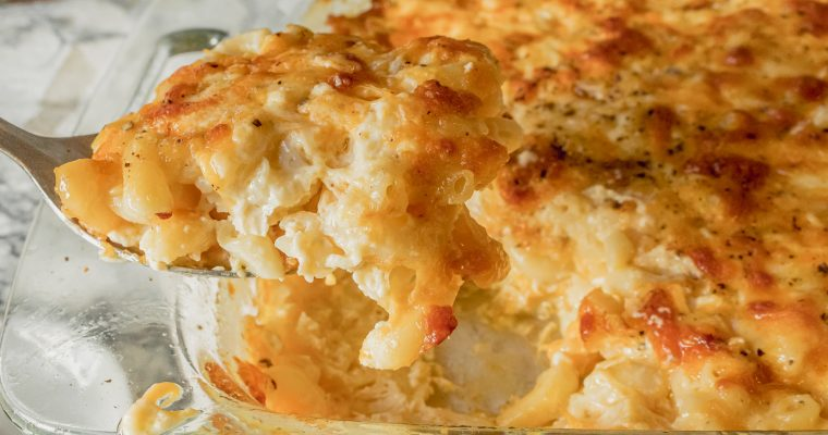 Soul Food Baked Mac and Cheese