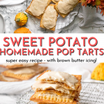 Easy Homemade Sweet Potato Pop Tarts with Brown Butter Icing | Chenée Today