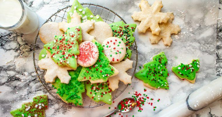 Sugar Cookies with Sprinkles – Easy Cutout Recipe
