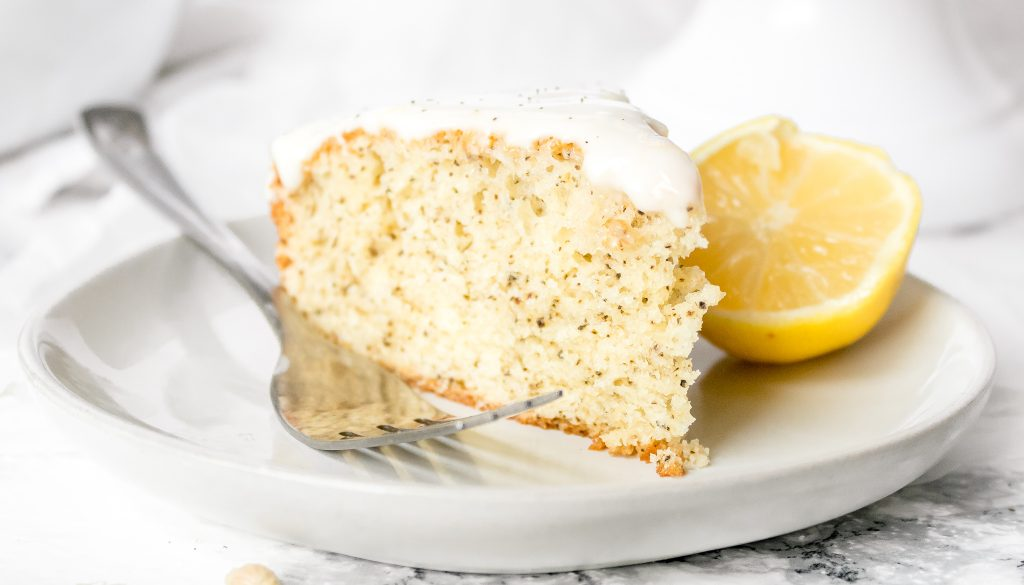 Earl Grey Lavender Cake Recipe with Honey Lemon Glaze   Chenée Today