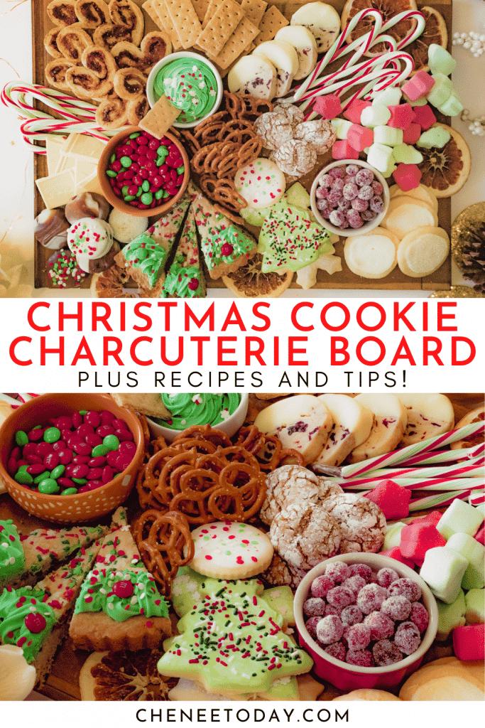 Christmas Dessert Charcuterie Board Ideas | Chenée Today