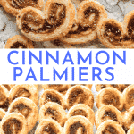Cinnamon Palmiers Recipe - Easy Puff Pastries with Cinnamon Sugar | Chenée Today