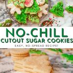 No-Chill, No-Spread, Perfect Edges Cutout Sugar Cookies Recipe | Chenée Today