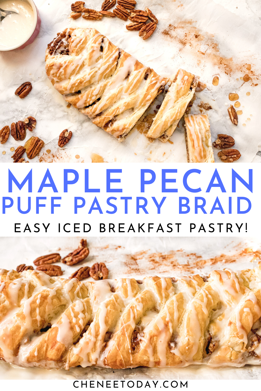 Cinnamon Maple Pecan Braid Recipe | Chenée Today