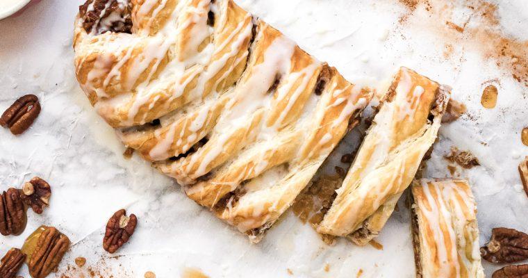 Pecan Pastry Braid
