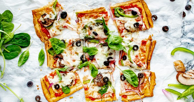 Puff Pastry Pizza