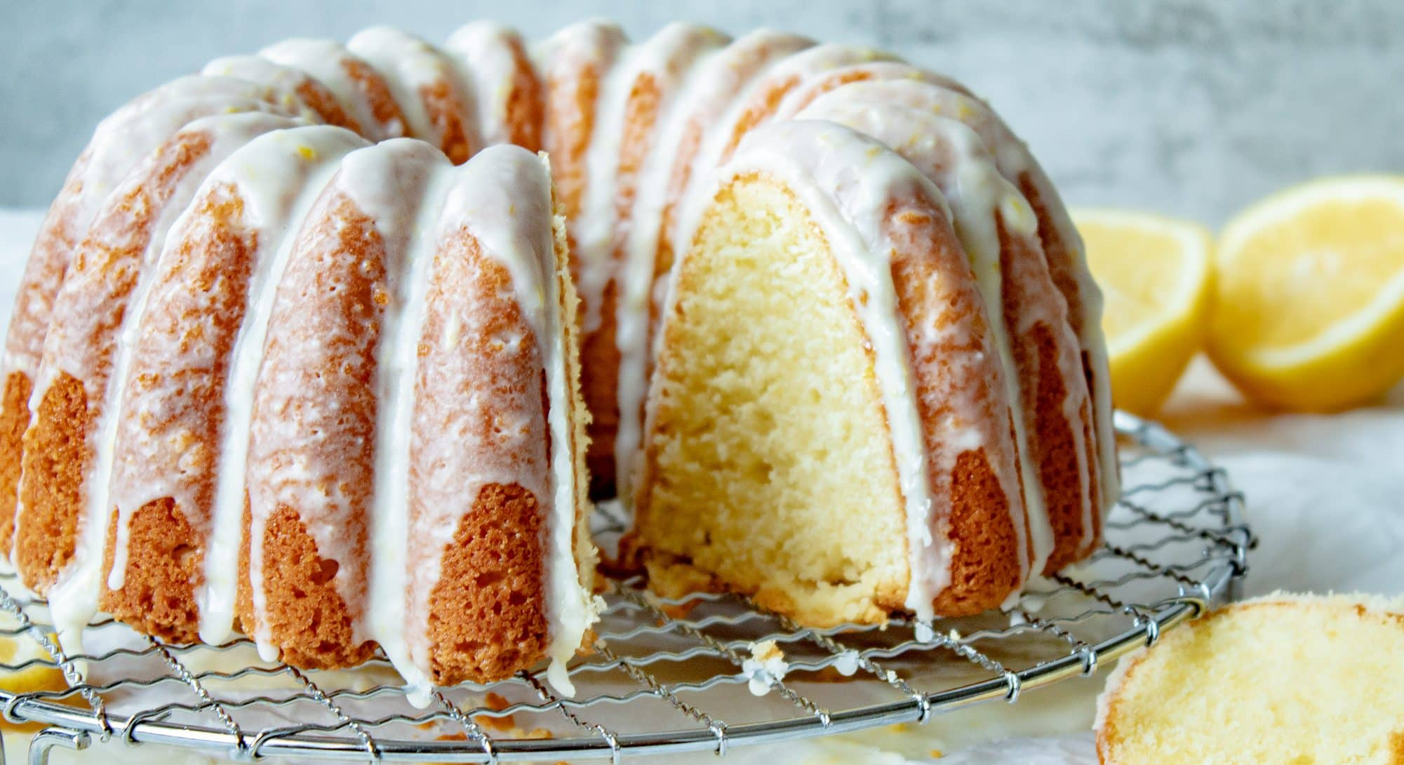 Lemon Sour Cream Pound Cake - Moist and Soft from Scratch!   Chenée Today