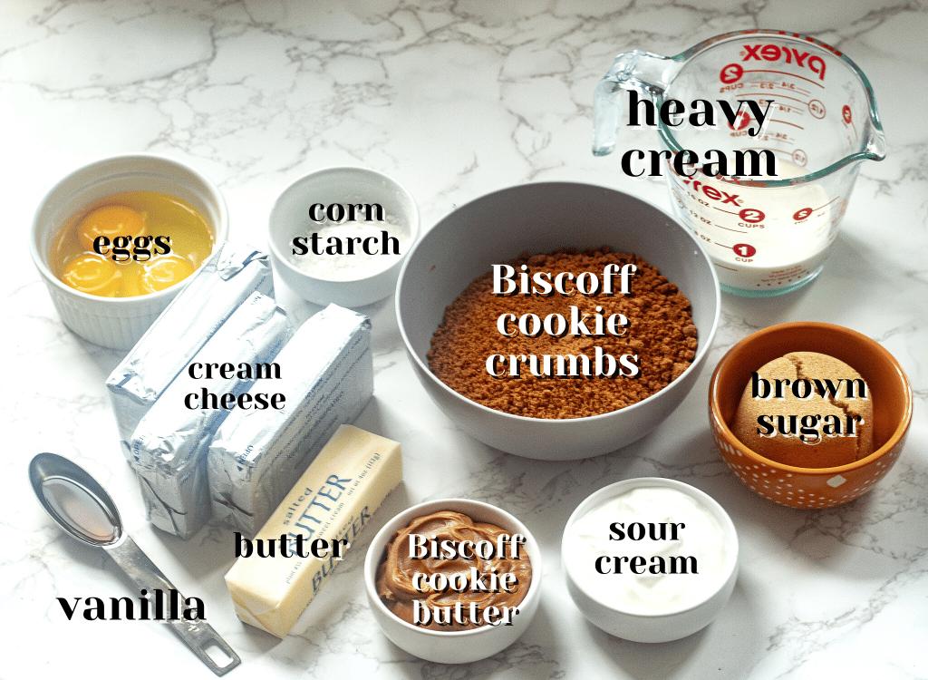 biscoff cheesecake ingredients