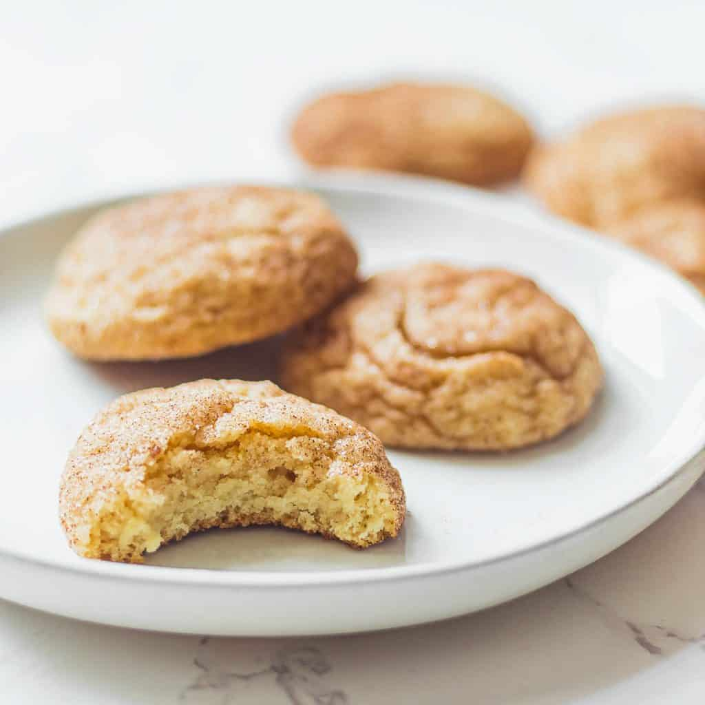snickerdoodles on a plate