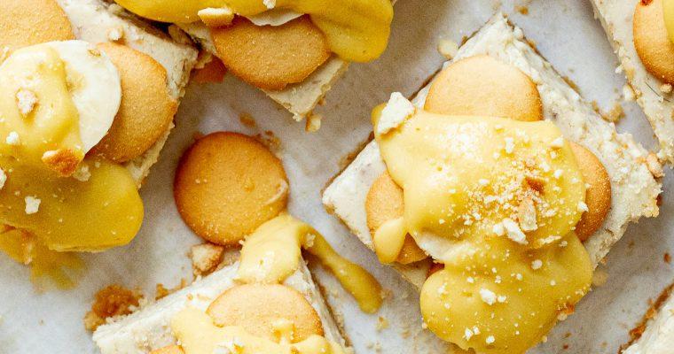 Banana Pudding Cheesecake Squares