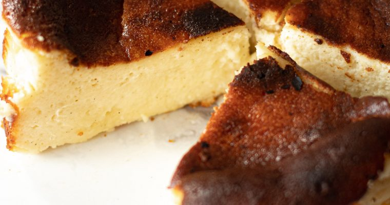 Mini Basque Cheesecake