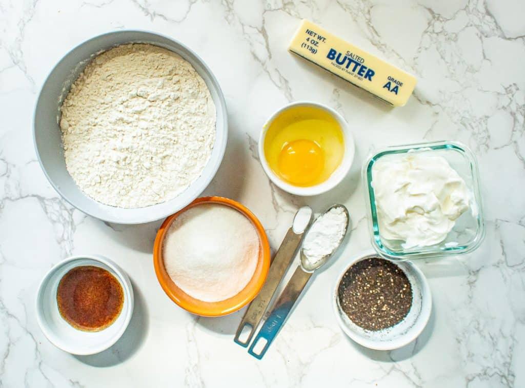 earl grey scones ingredients